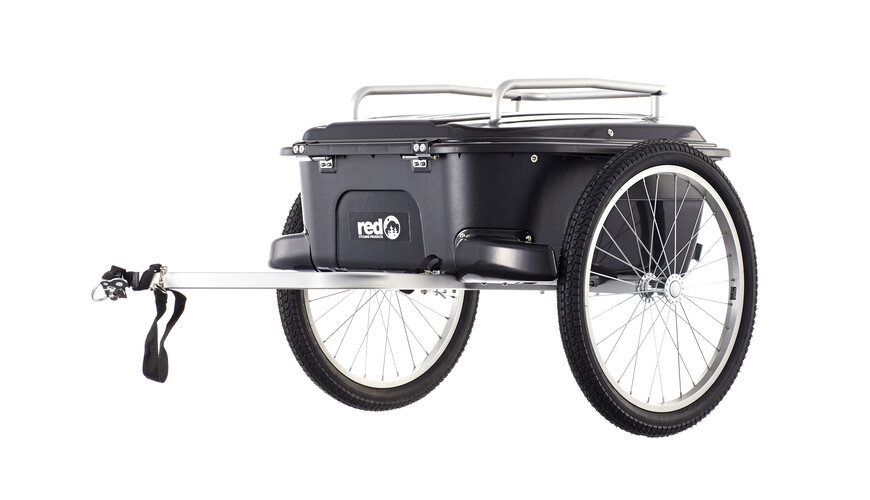 Red Cycling Products Cargo Trailer - Remolque - negro